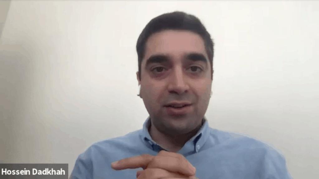 Hossein Dadkhah from https://www.datadrivencios.com/